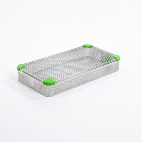 Sterisystem® Dry-Base® Instrument Trays with Steri-TOP Lids