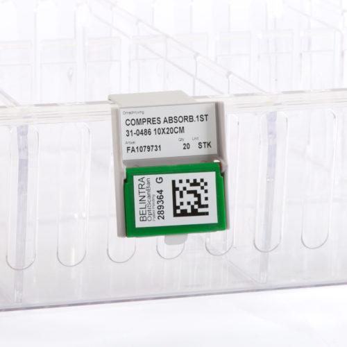 OptiScanBan® label holder