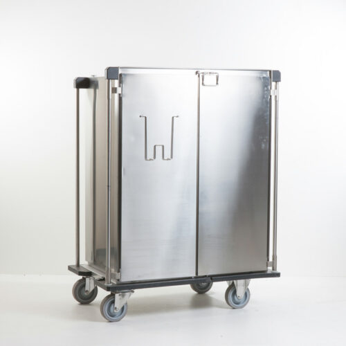 Closed ISO stainless steel transport carts